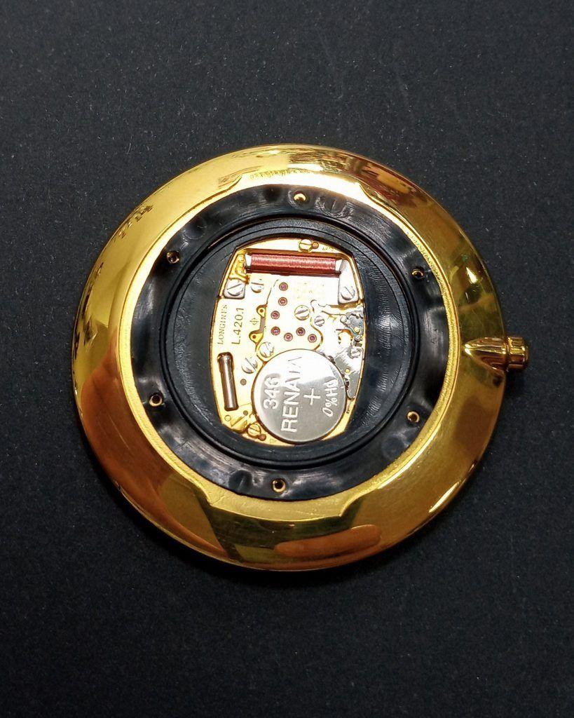 Caja de un reloj de pulsera