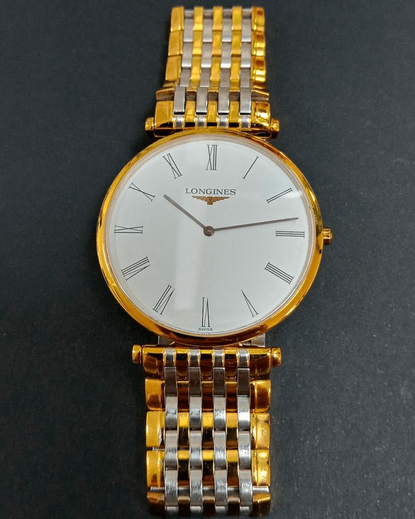 Como se desmonta un reloj de pulsera Longines La Grande Classique
