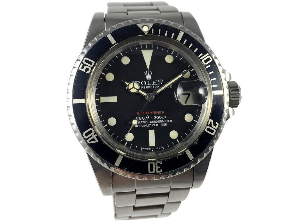 Rolex Submariner 1680 Red Letters