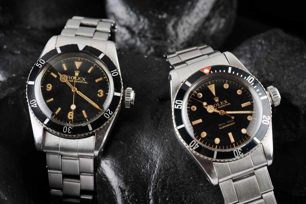 Rolex Submariner 6200 y 6205