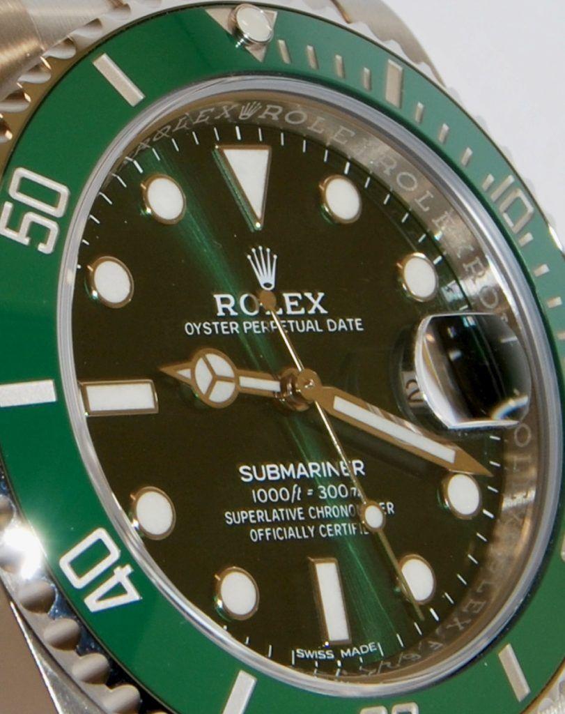 Rolex Submariner Hulk Aro de Seguridad