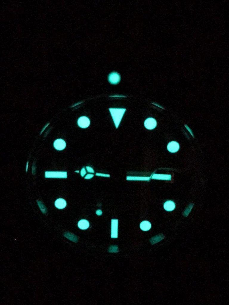 Rolex Submariner Noche