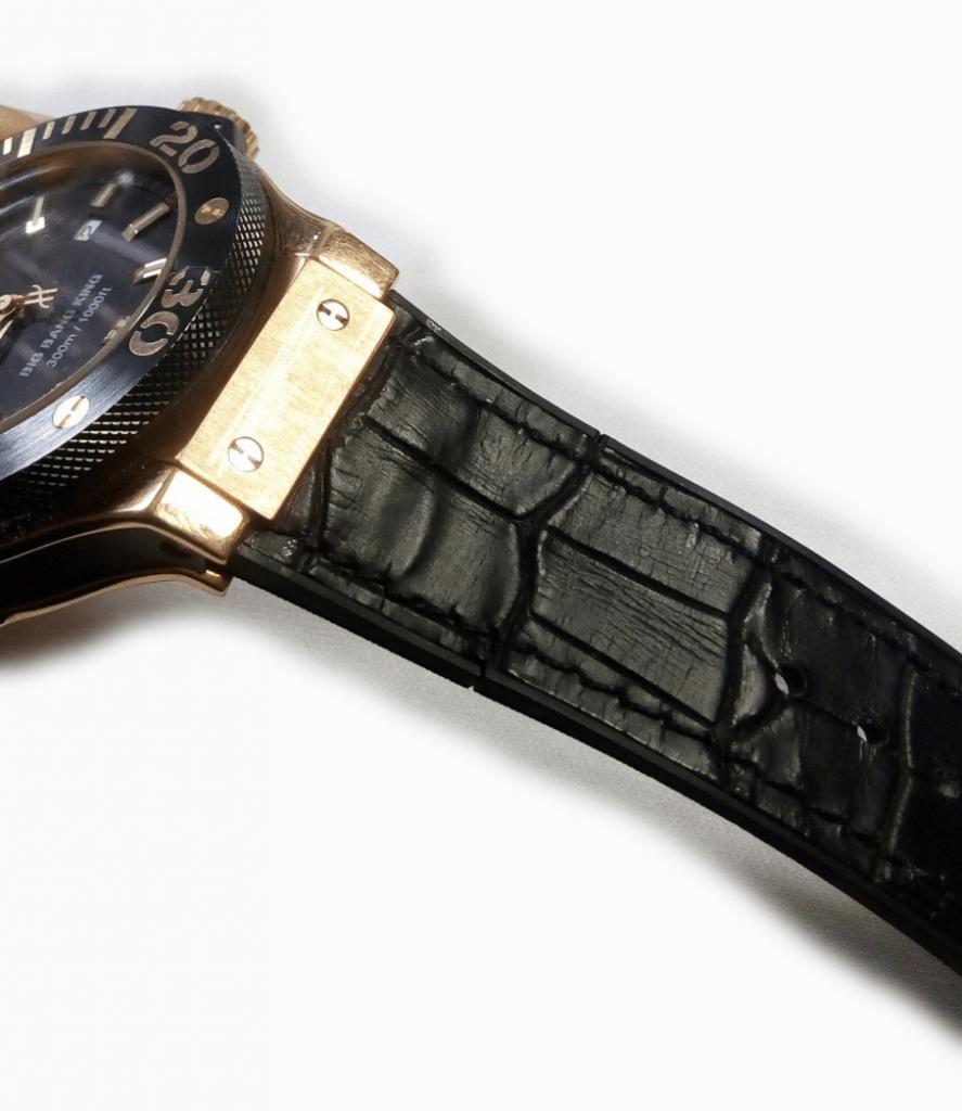 Cambio de correas reloj Hublot