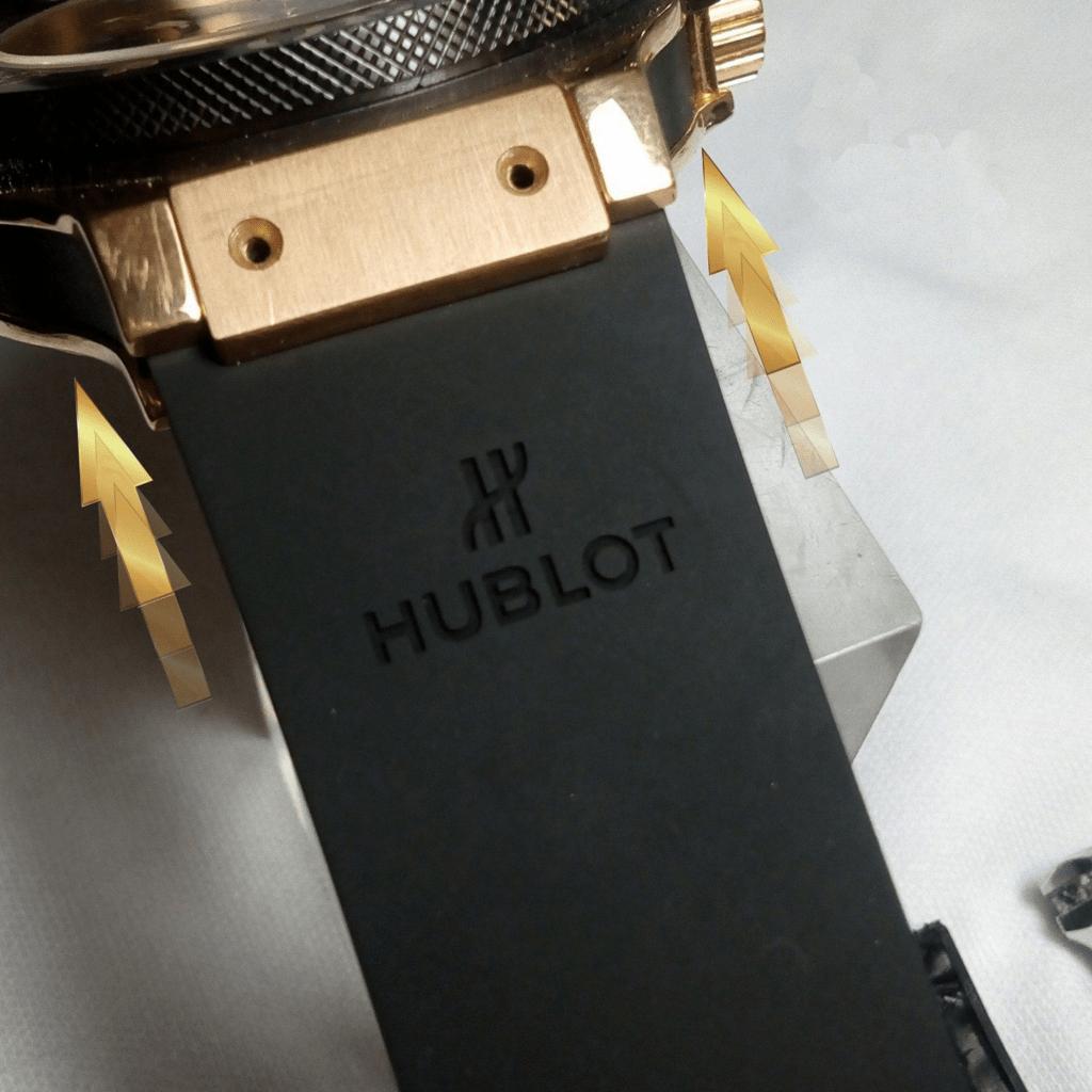 Cambio de correa reloj Hublot