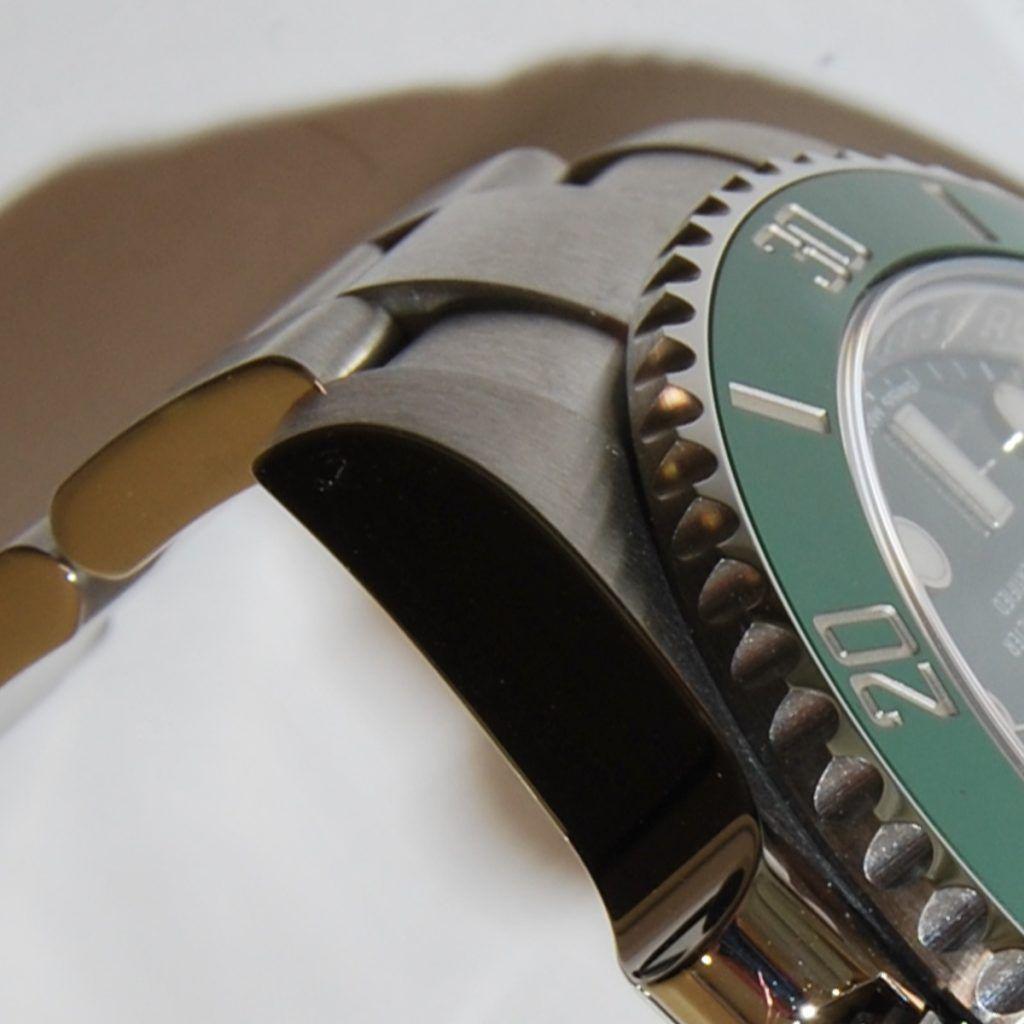Union caja brazalete Rolex Hulk