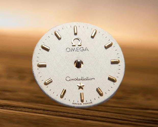 como cambiar la esfera de un reloj Omega Constellation