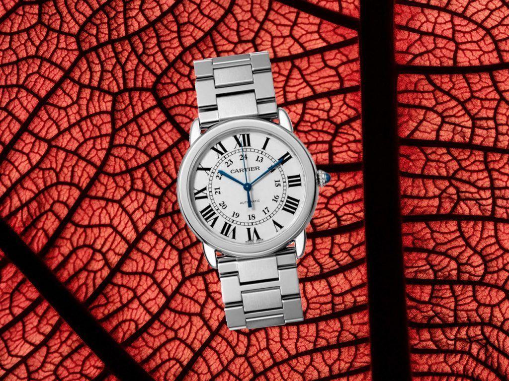 Cómo arreglar el broche de un reloj Cartier Ronde