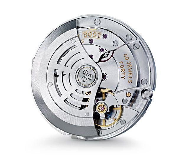 Calibre Rolex 9001