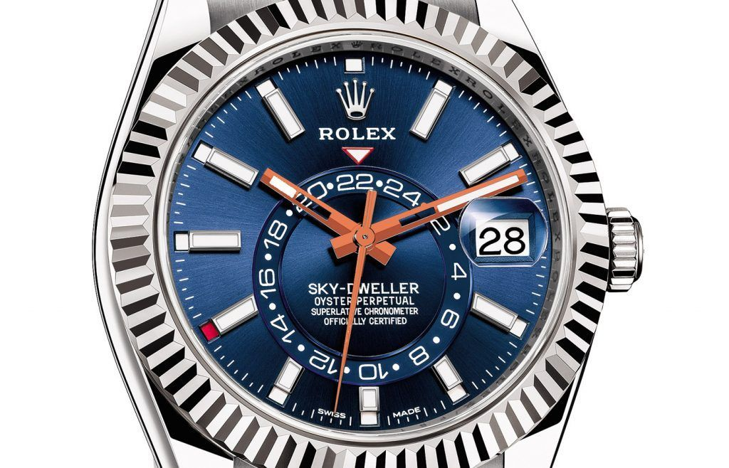 Rolex Sky-Dweller Azul