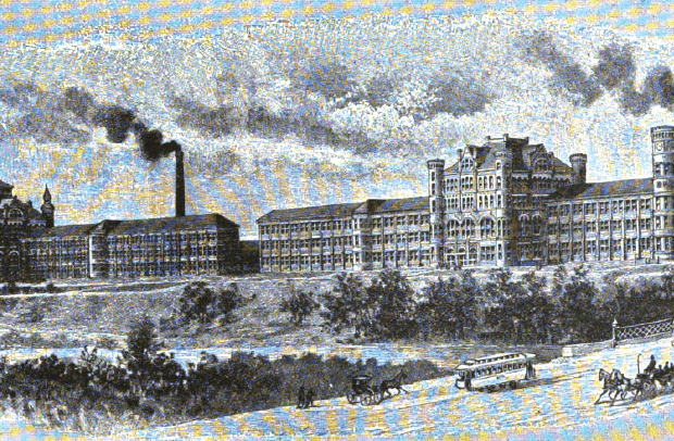 Historia de los relojes rusos: Dueber-Hampden Watch Factory