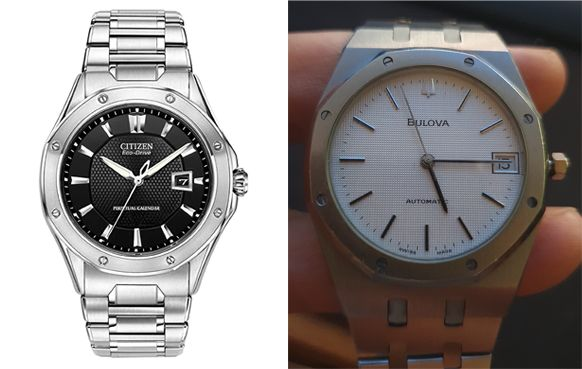Bulova 4420101 y Citizen Eco