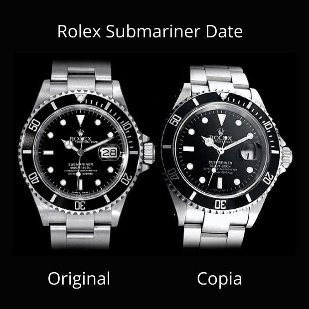 Rolex Submariner Original y Copia