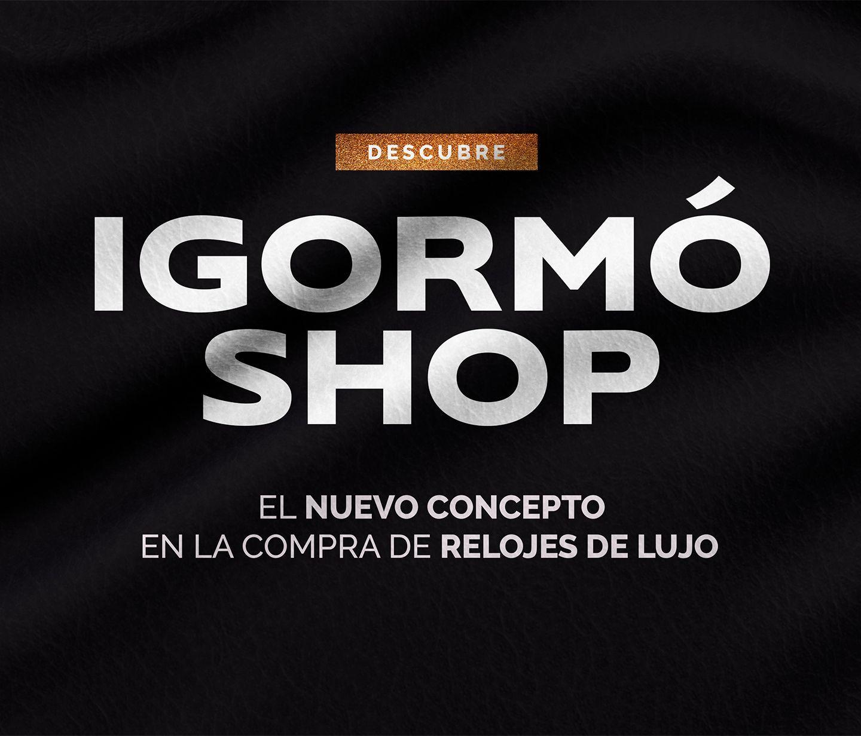 Venta de relojes de lujo. Igormo Shop