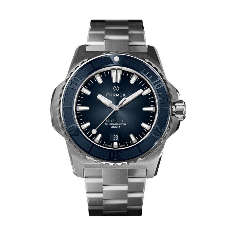 Reloj Formex REEF Azul bisel azul