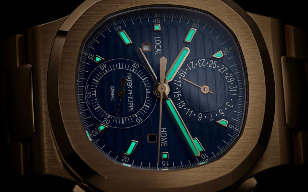 PATEK PHILIPPE NAUTILUS TRAVEL TIME CHRONOGRAPH 5990/1R-001