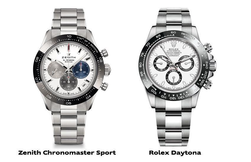 Zenith Chronomaster Sport VS Rolex Daytona