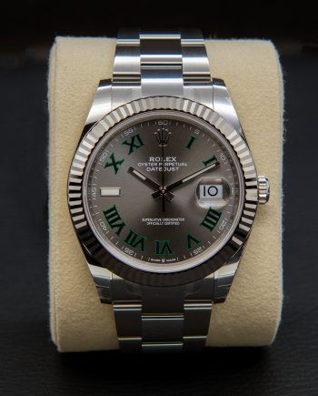 Comprar Rolex Datejust 41 Ref 126334 Esfera Wimbledon