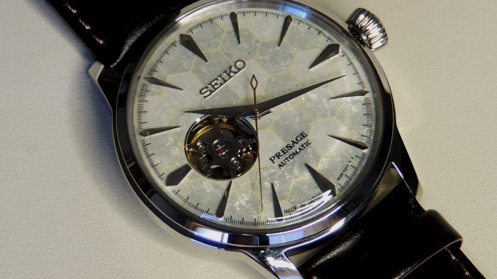 Seiko Presage SSA409J1 Esfera