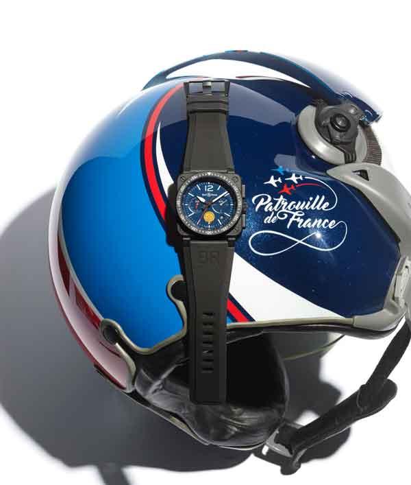 Conoce el Bell & Ross BR 03-94 Patrouille de France, un reloj creado en colaboración con el grupo de élite del ejercito del aire frances.