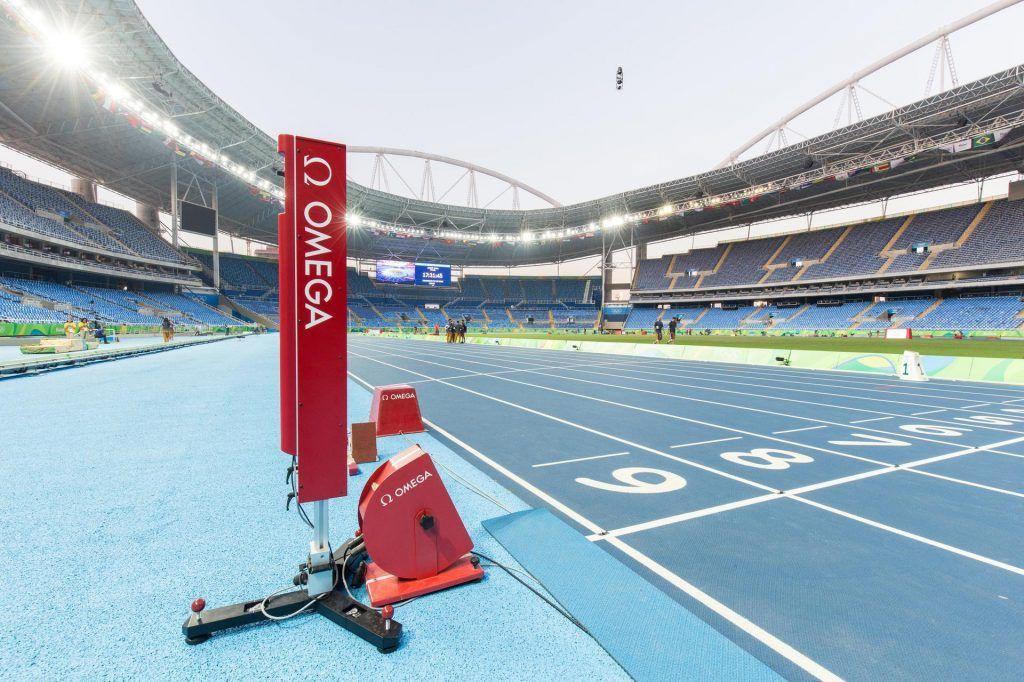Omega Cronometrador de los Juegos Olimpicos