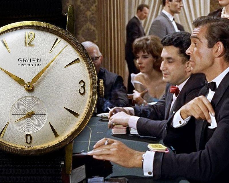 Gruen Precision 510 James Bond Dr No