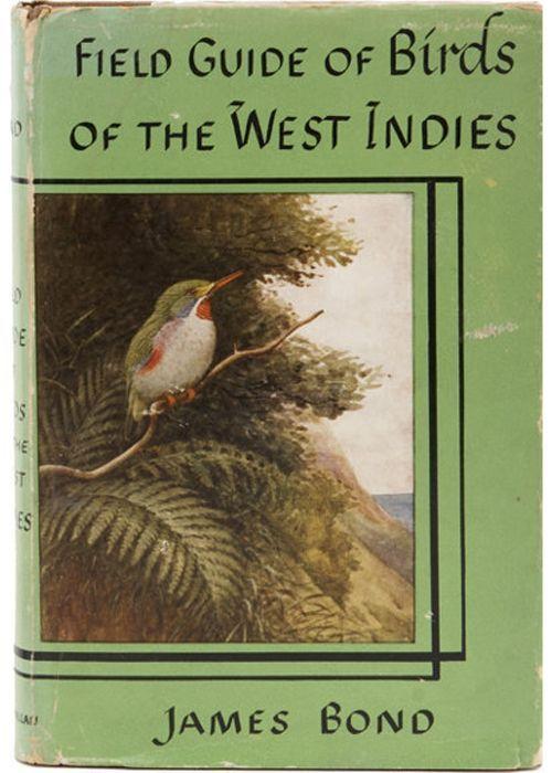 Birds of the west indies james bond