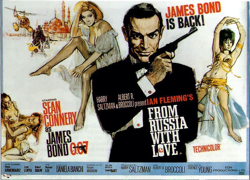 James Bond From Russia With Love