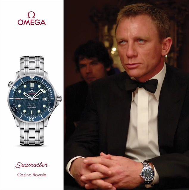 Omega Seamaster 300M Casino Royale