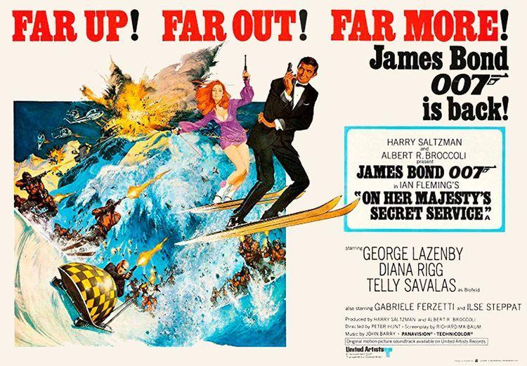 On her Majesty secret service James Bond
