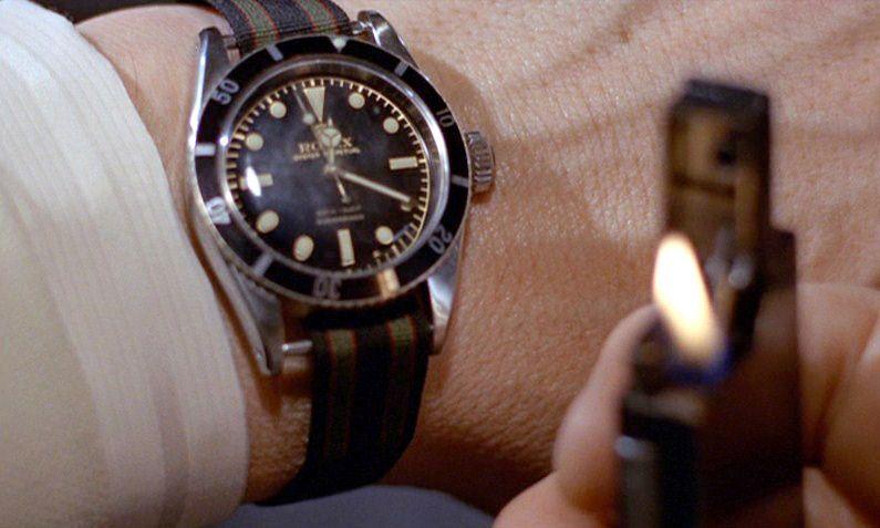 Rolex Submariner James Bond Goldfinger