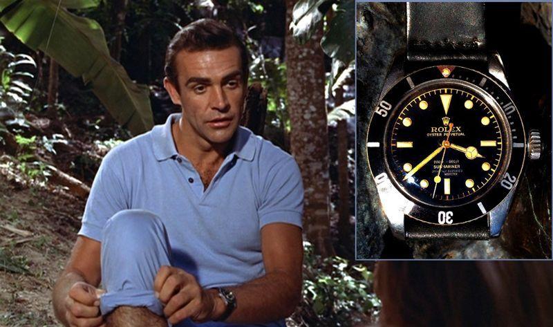Rolex Submariner 6583 James Bond Dr No