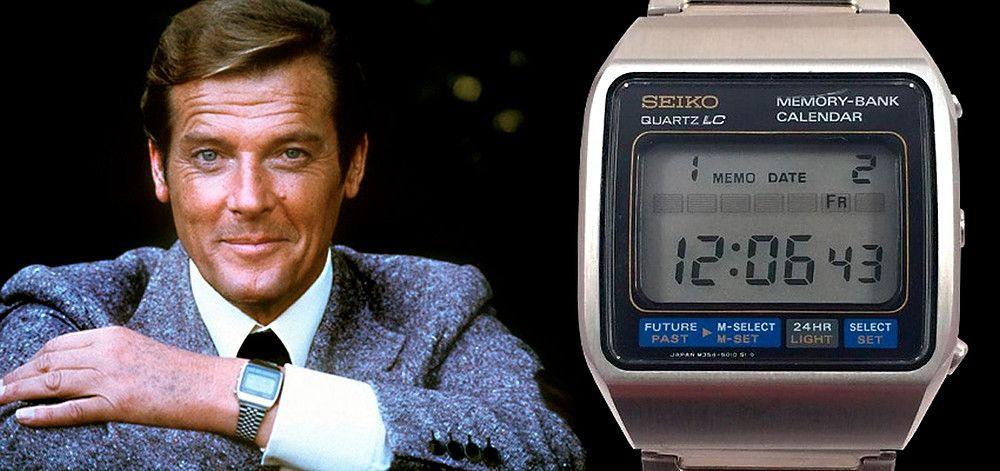 Seiko Referencia M354 Memory Bank Calendar James Bond