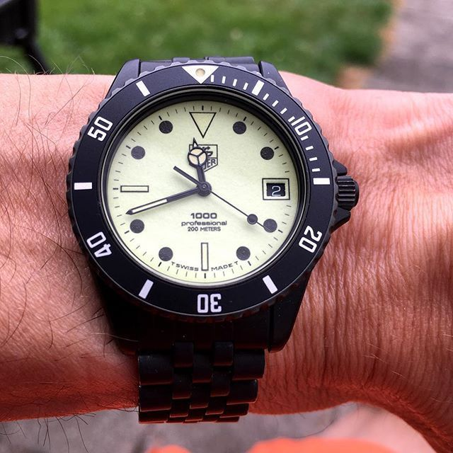 Tag Heuer 1000 Referencia 980.031
